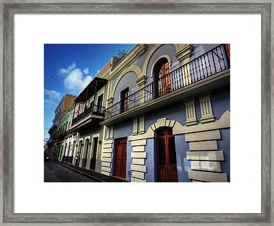 Puerto Rico - Old San Juan 002 Framed Print by Lance Vaughn