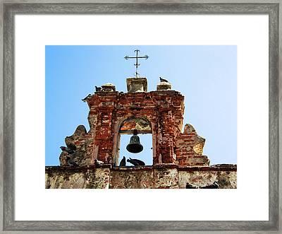 Puerto Rico, Old San Juan, Capilla Del Framed Print by Miva Stock