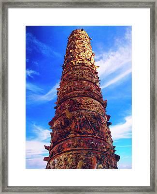 Puerto Rico, San Juan, Plaza Del Quinto Framed Print by Miva Stock