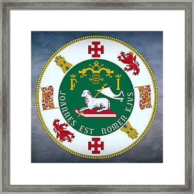 Puerto Rico Seal Framed Print
