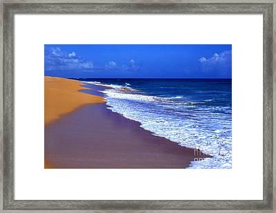 Puerto Rico Seascape Framed Print by Thomas R Fletcher