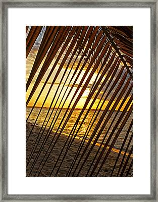 Puerto Rico Sunset 2 Framed Print by Stephen Anderson