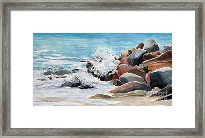 Puerto Vallarta Rocks Framed Print