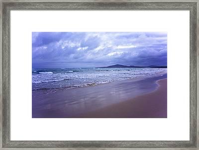 Puerto Villamil Framed Print