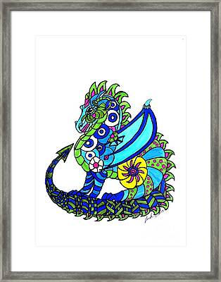 Puff The Magic Dragon Framed Print
