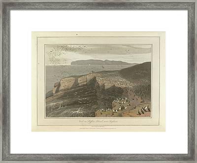Puffin Island Near Anglesea Framed Print