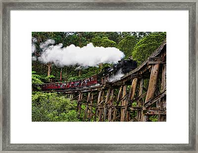 Puffing Billy Framed Print