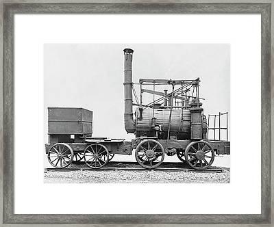 Puffing Billy Locomotive Framed Print