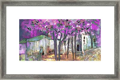 Puicheric 02 Framed Print by Miki De Goodaboom
