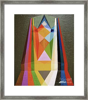 Puissance-power Framed Print by Michael Bellon