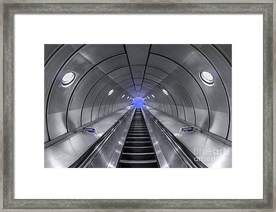 Pull Me In Framed Print by Evelina Kremsdorf