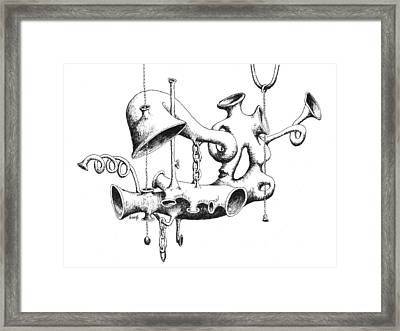 Pull My Chain Sweetheart Framed Print by Sam Sidders