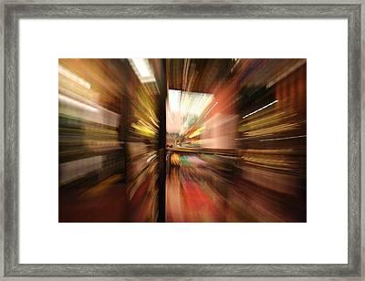 Pull Framed Print