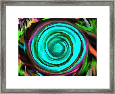 Framed Print featuring the digital art Pulled by Catherine Lott
