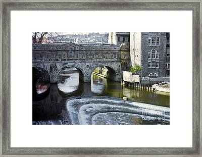 Pulleney Bridge Framed Print by Bob Phillips