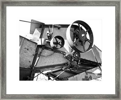 Pulley Framed Print