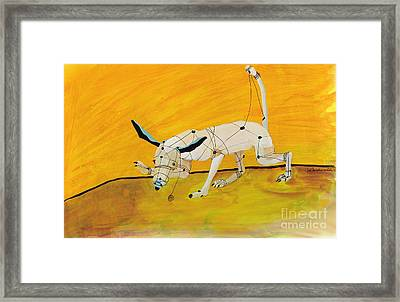 Pulling My Own Strings Framed Print by Pat Saunders-White