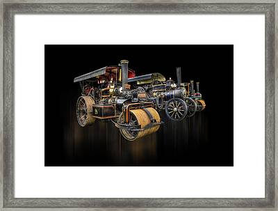 Framed Print featuring the photograph Pulling Power  by Stewart Scott