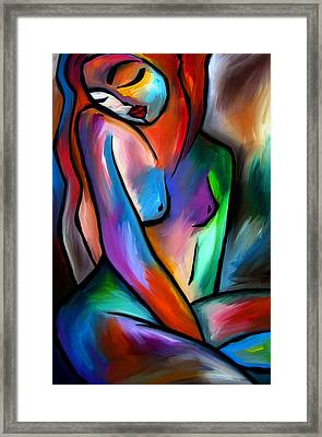 Pulling Through By Fidostudio Framed Print by Tom Fedro - Fidostudio