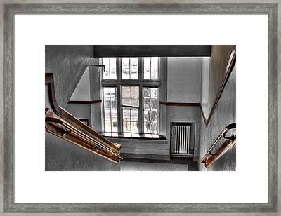 Pullman High School II - Where Memories Were Made Framed Print