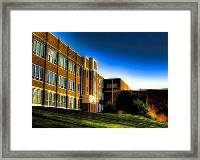 Pullman High School - Pullman Washington Framed Print