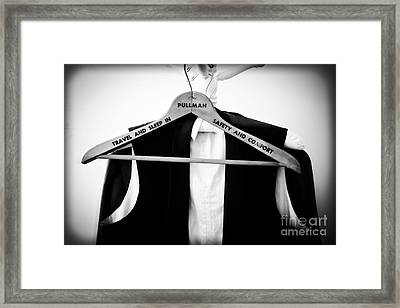 Pullman Tuxedo Framed Print by Edward Fielding