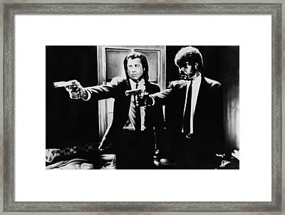 Pulp Fiction Framed Print by Movie Prints