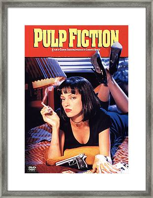 Pulp Fiction Framed Print by Georgia Fowler