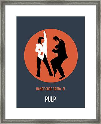 Pulp Fiction Poster 6 Framed Print by Naxart Studio