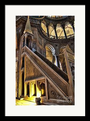 Aya Sofya Framed Prints