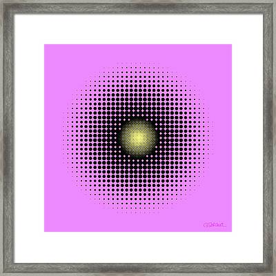 Pulsations Framed Print
