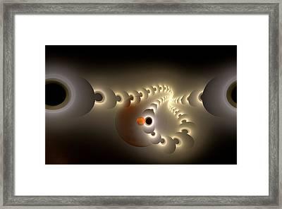 Pulse Eject Framed Print