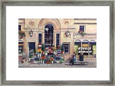 Pulteny Bridge Framed Print By Renae Hill