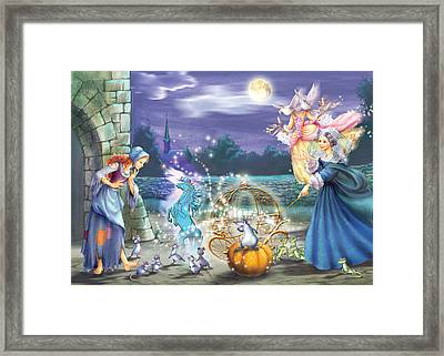 Pumkin Carriage Framed Print