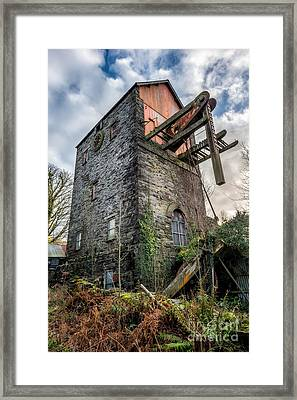 Pump House Framed Print by Adrian Evans