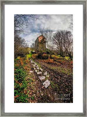 Pump House Way Framed Print by Adrian Evans