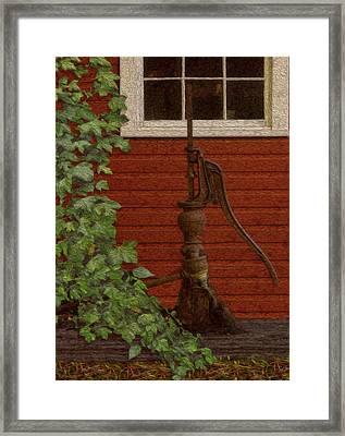 Pump Framed Print by Jack Zulli