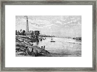 Pumping Station Framed Print by Bildagentur-online/tschanz