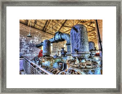 Pumping Station I Framed Print