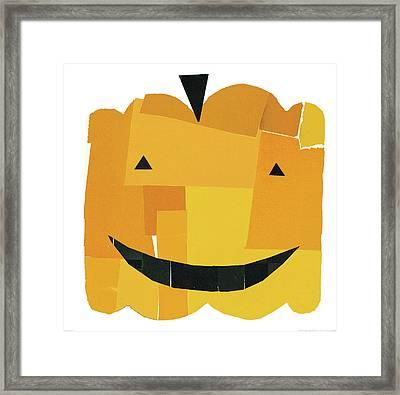 Pumpkin Lanterns I Framed Print by Michael Mullan