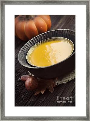 Pumpkin Soup Framed Print