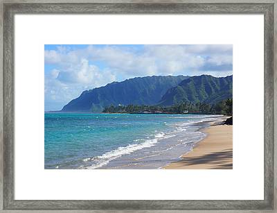 Punaluu Windward Oahu Hawaii Framed Print