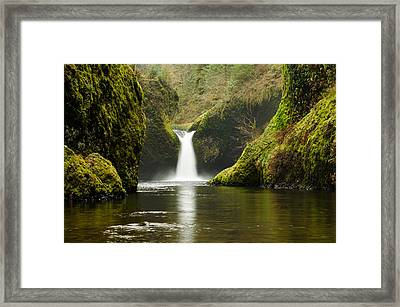 Punch Bowl Falls Framed Print by Jesse Wright