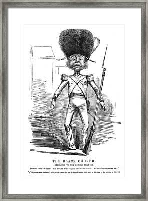 Punch British Soldier Framed Print by Granger