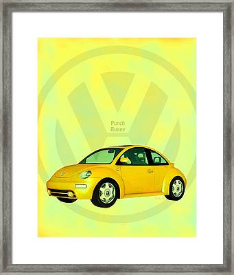 Punch Buggy Framed Print by Bob Orsillo