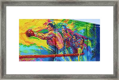 Punch Framed Print by Chuck  Hicks