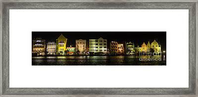 Punda At Night Panoramic Framed Print