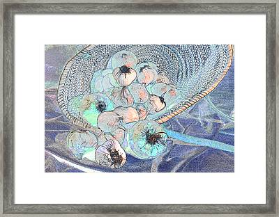 Pungent Overflow Framed Print by Jean Noren
