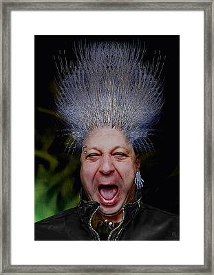 Punk Ratius Nuarb Framed Print by Nafets Nuarb