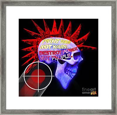 Punk Rocks Framed Print